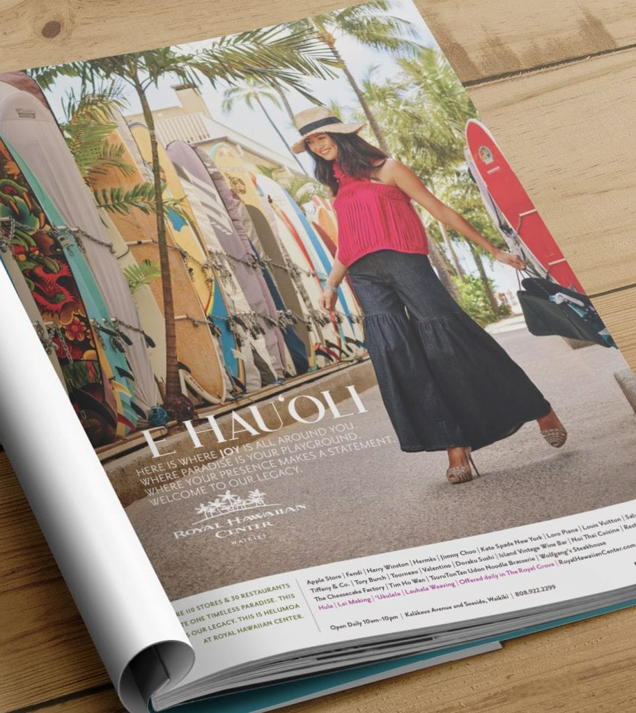 r magazine page